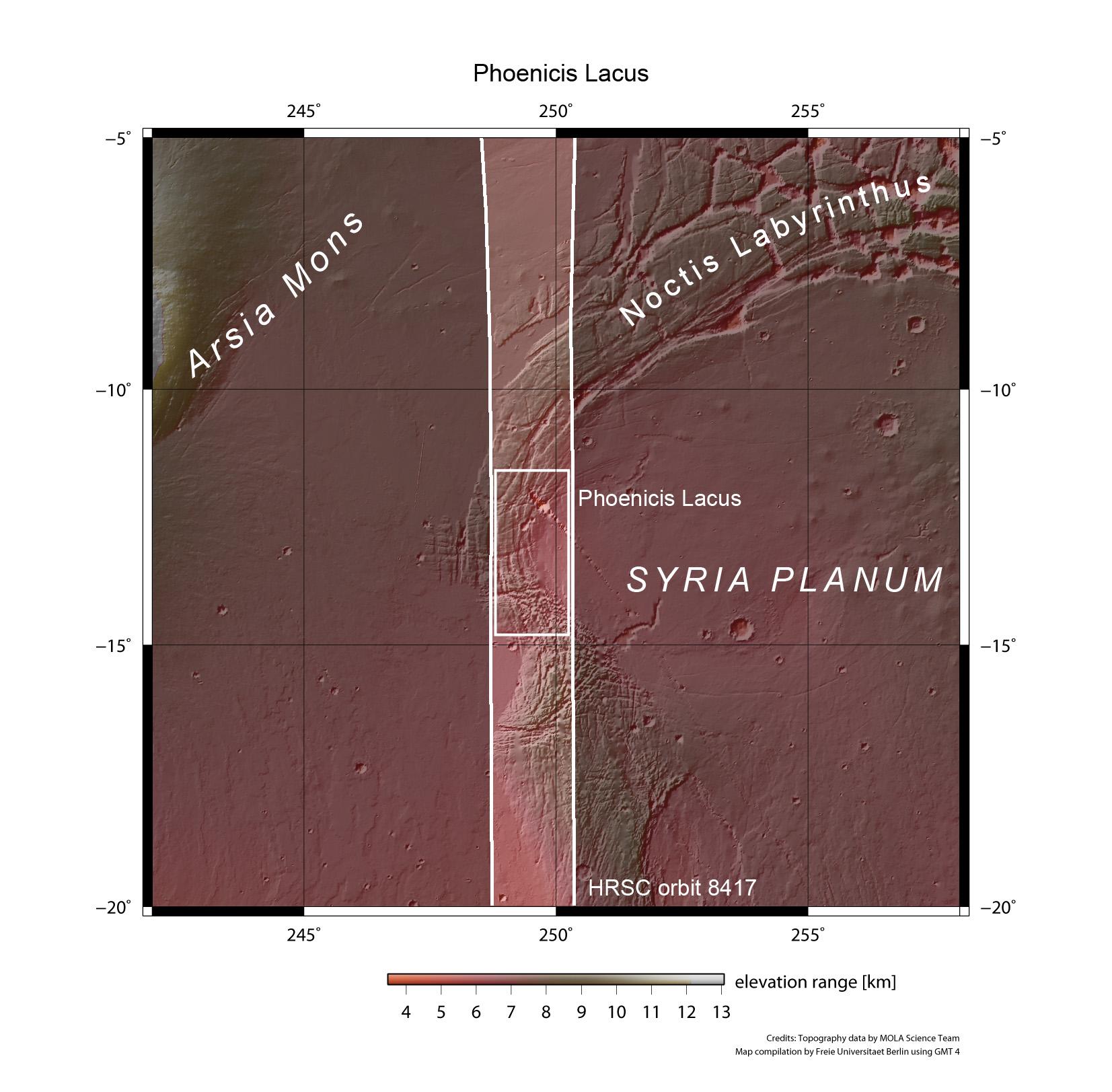 Syria Planum