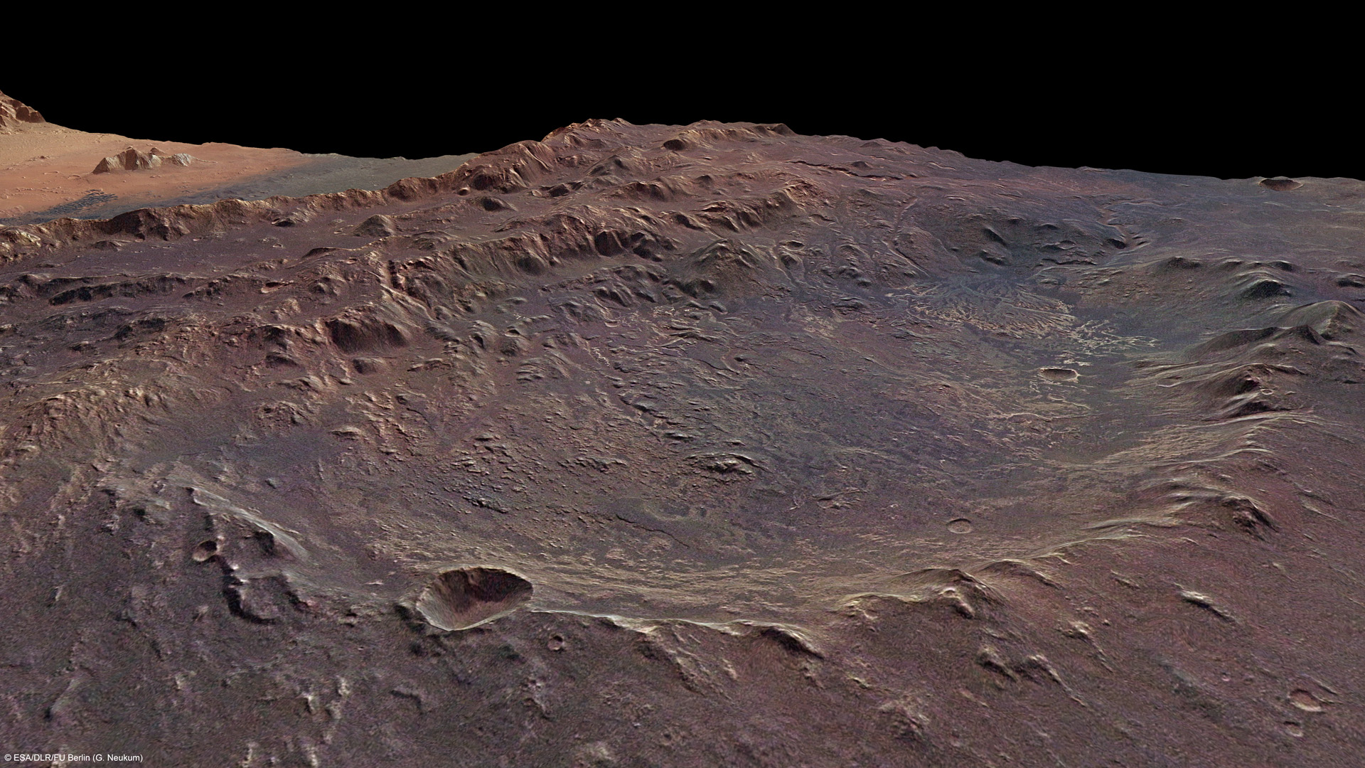 Eberswalde Crater - click for more